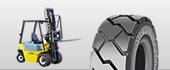 carrello industriale pneumatici
